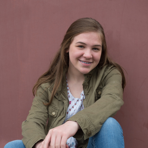 teen with braces treated at Robinson Orthodontics in Grants Pass, OR