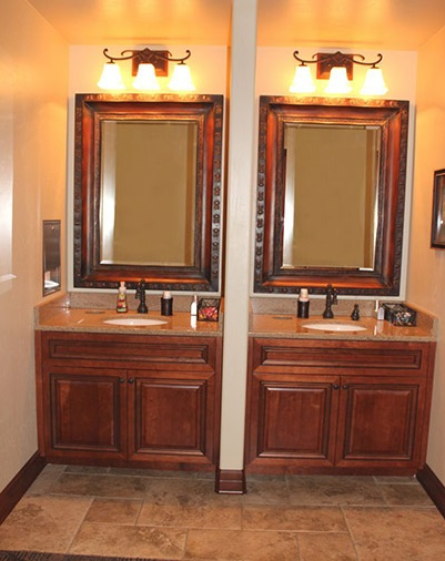 Robinson Orthodontics Office, sinks.