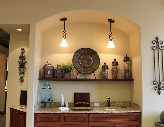 Robinson Orthodontics Office, counter.
